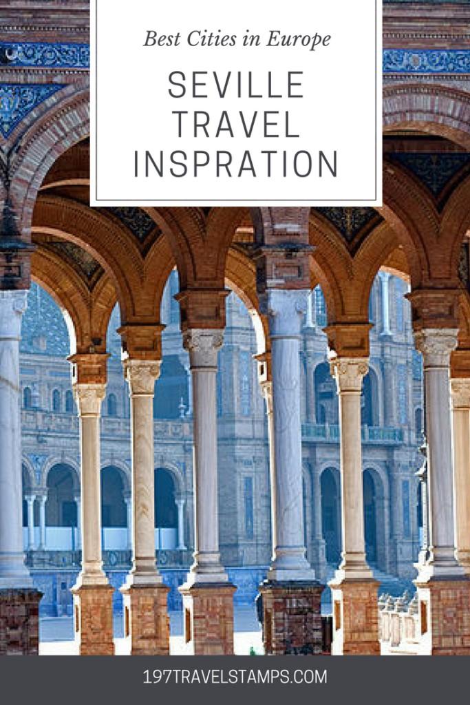 Seville Travel Inspiration pin