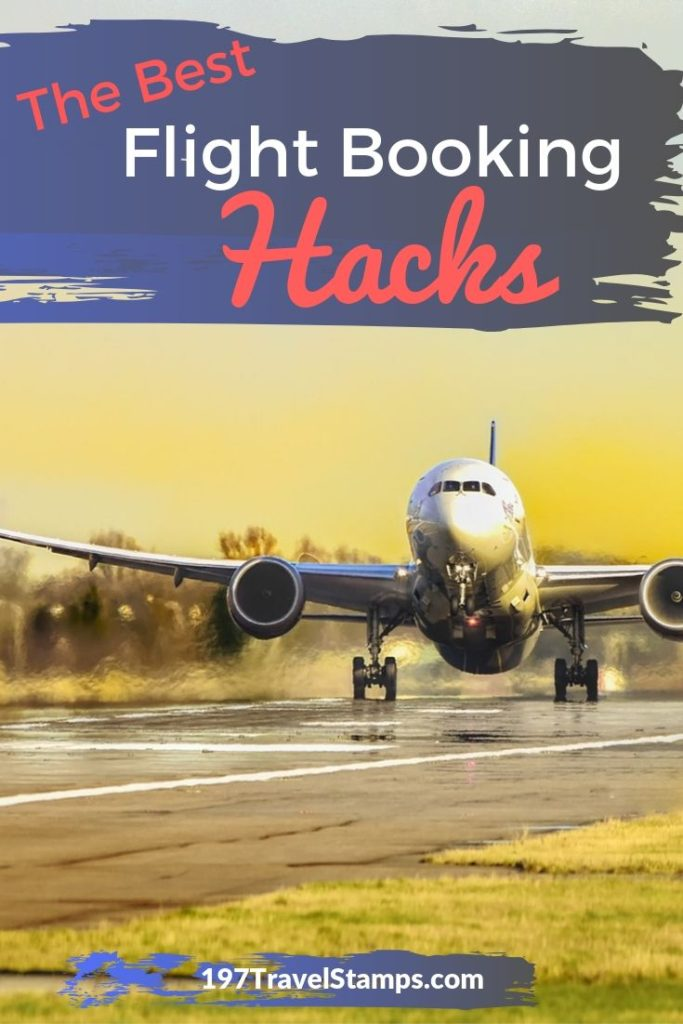 How to find the best flight booking hacks to score the cheapest airline tickets. Just follow these simple tips and tricks and your next holiday flight will cost you much less!