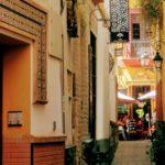 Seville Travel Inspiration Alley in Barrio Santa Cruz, Seville