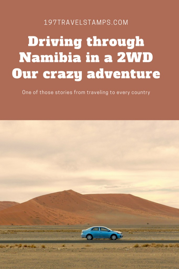 Driving adventure in Namibia pin this