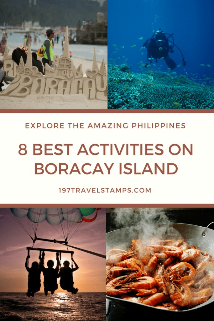 After its long needed cleanup, Boracay is again one of the most beautiful #islands in the #Philippines. Read our list of the best #Boracay activities. #travel #asia