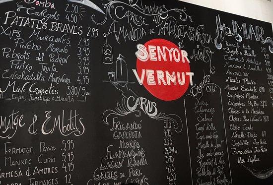 senyor vermut good cheap tapas Barcelona