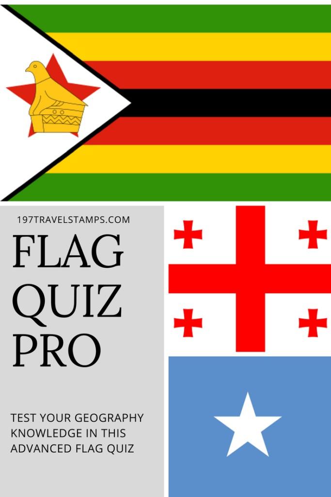 Flag Quiz (Hard) Pin this travel trivia