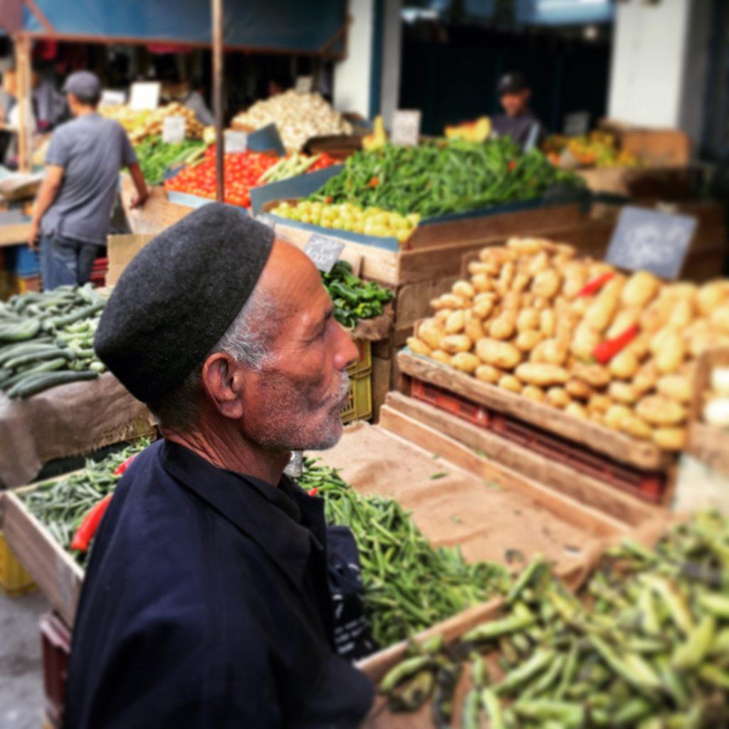 Market Scene in the Medina of Tunis