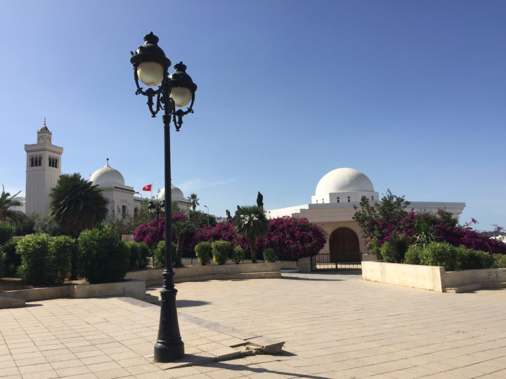 Government Buildings on Kasbah Square Tunis