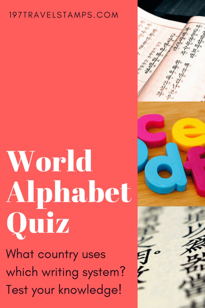 world alphabet quiz pinterest