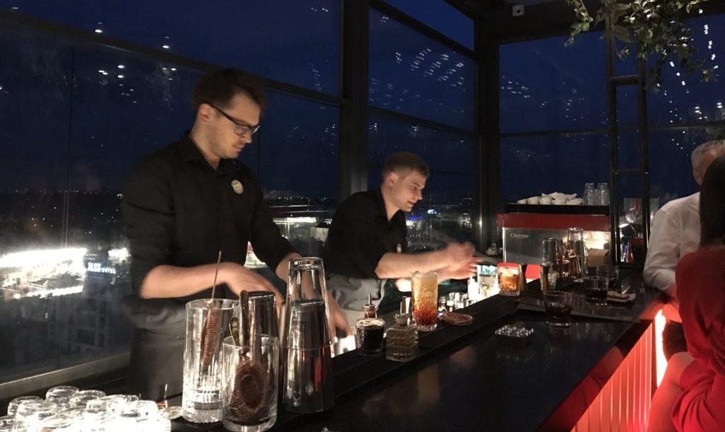 Chisinau Nightlife Rooftop Bar Radisson Hotel