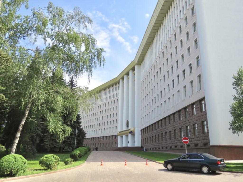 Chisinau Sightseeing Parliament of Moldova