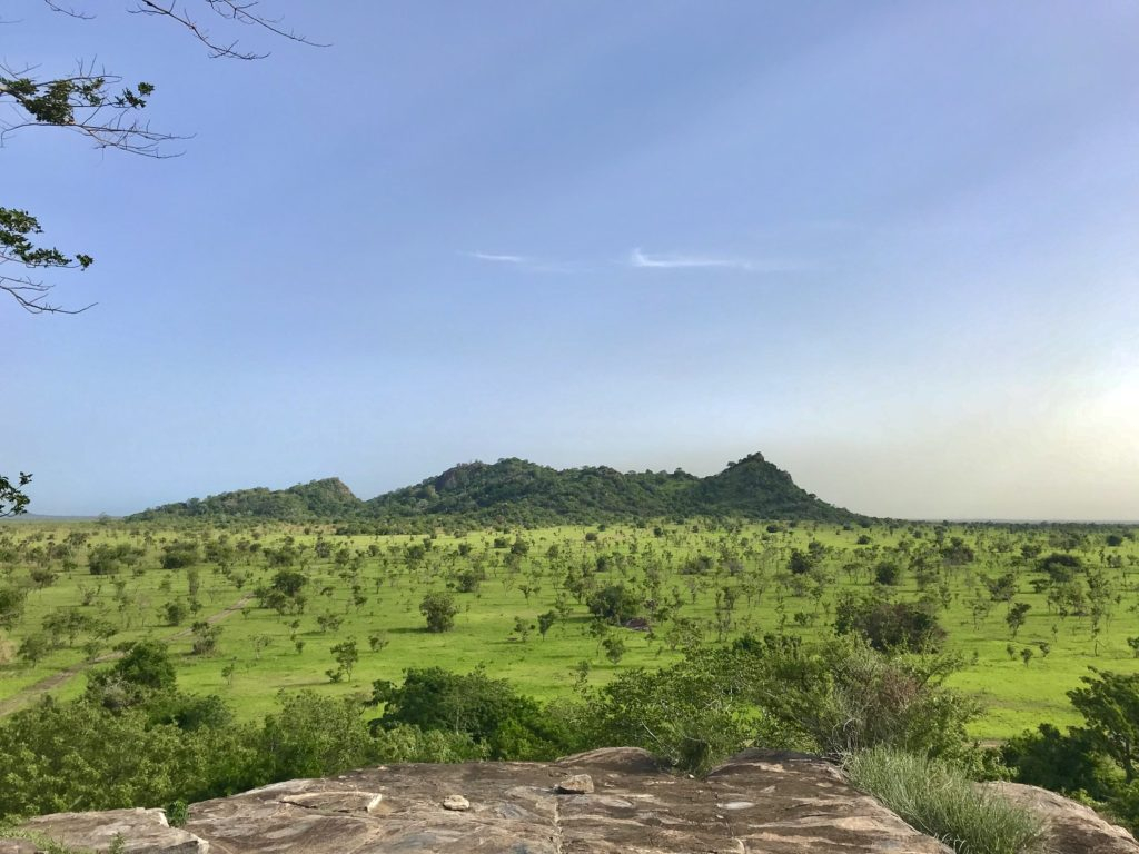 Shai Hills Resource Reserve Ghana View from Mogo Hill
