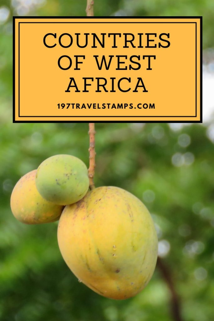 List Of West African Countries And Capitals 197 Travelstamps