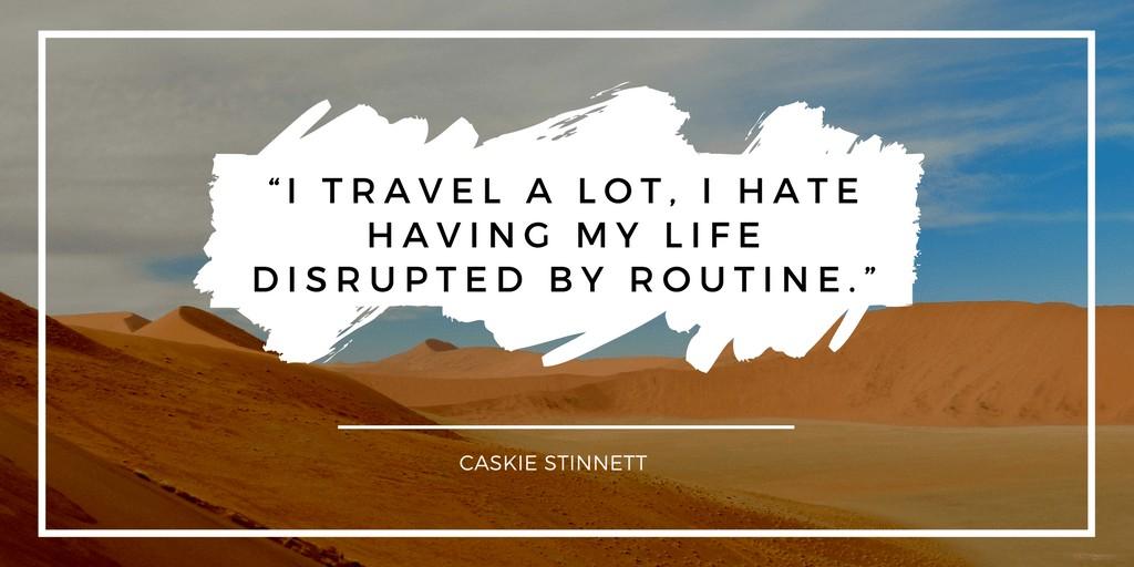 World Quotes. By Caskie Stinnett