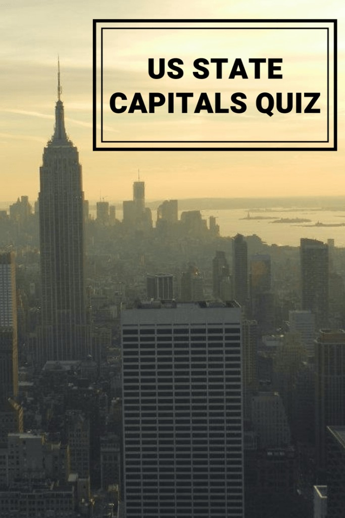 Do you know all the capitals of the US states - Test your knowledge in our US state capitals #quiz #trivia #game #fun