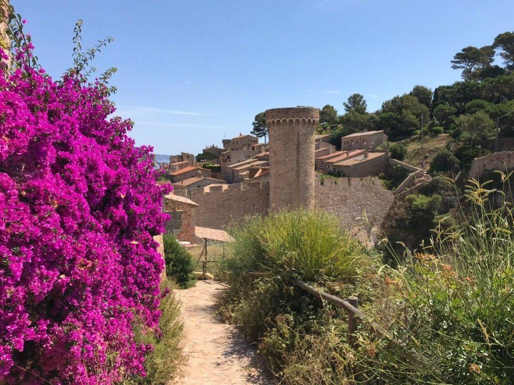 Medieval town on the costa brava Tossa de Mar