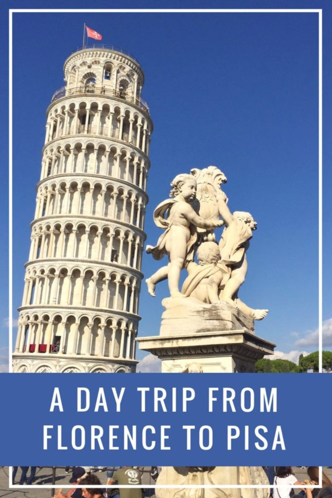 Most of the attractions of #Pisa can be seen in one day. This post summarizes everything you need to know to organize the perfect #Florence to Pisa day trip. #travel #italy #tuscany