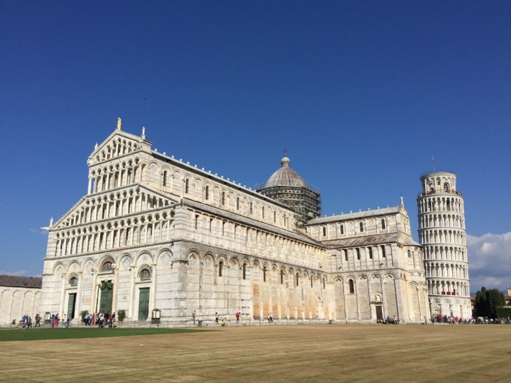 Side trip from Florence to the leaning tower of Pisa