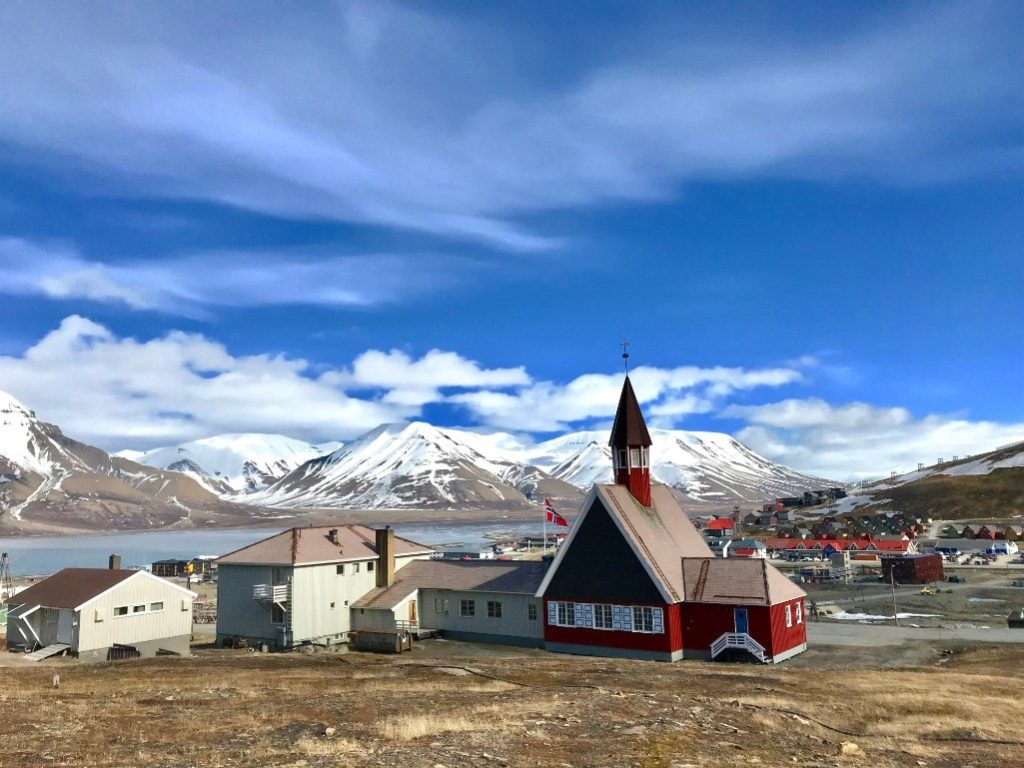 Things to see in longyearbyen church