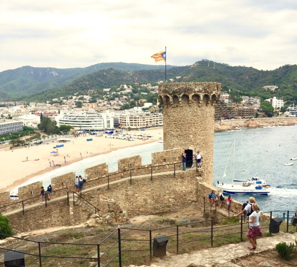 Tossa de Mar Castle and Big Beach