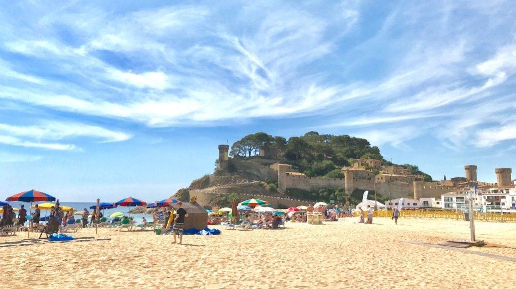 Tossa de Mar activities - Platja Gran