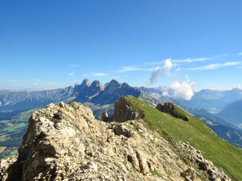 Dolomites hiking tours to Piz Boé peak