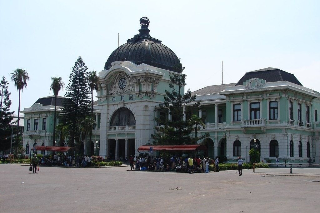 Maputo Itinerary - Maputo train station