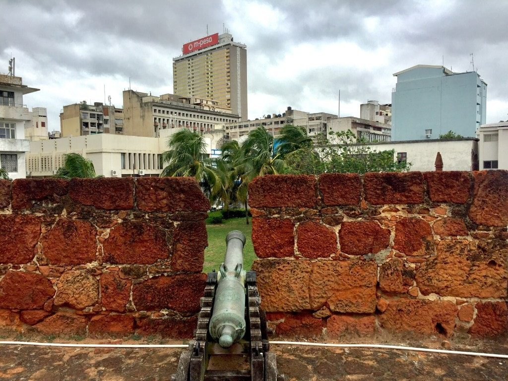 Maputo sights - Fort of Maputo and viewover the city