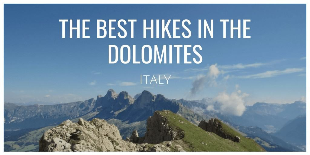 The best hikes in the Dolomites Cover