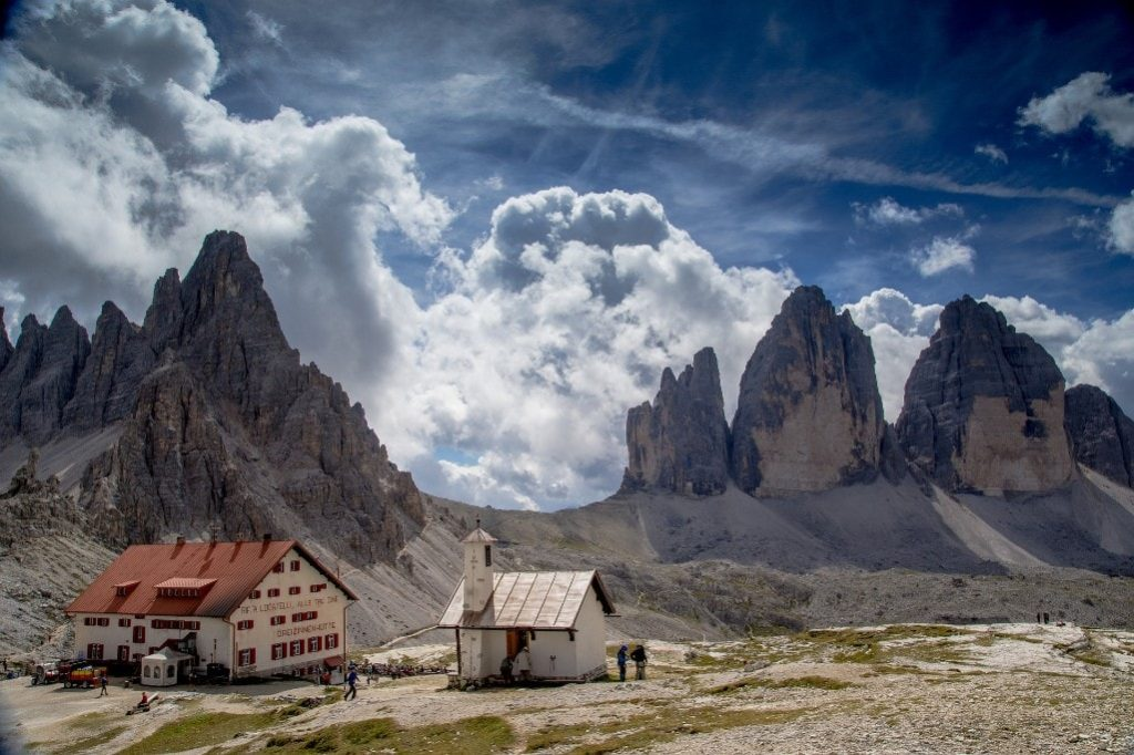 Tre Cime di Lavaredo best hikes in the Dolomites