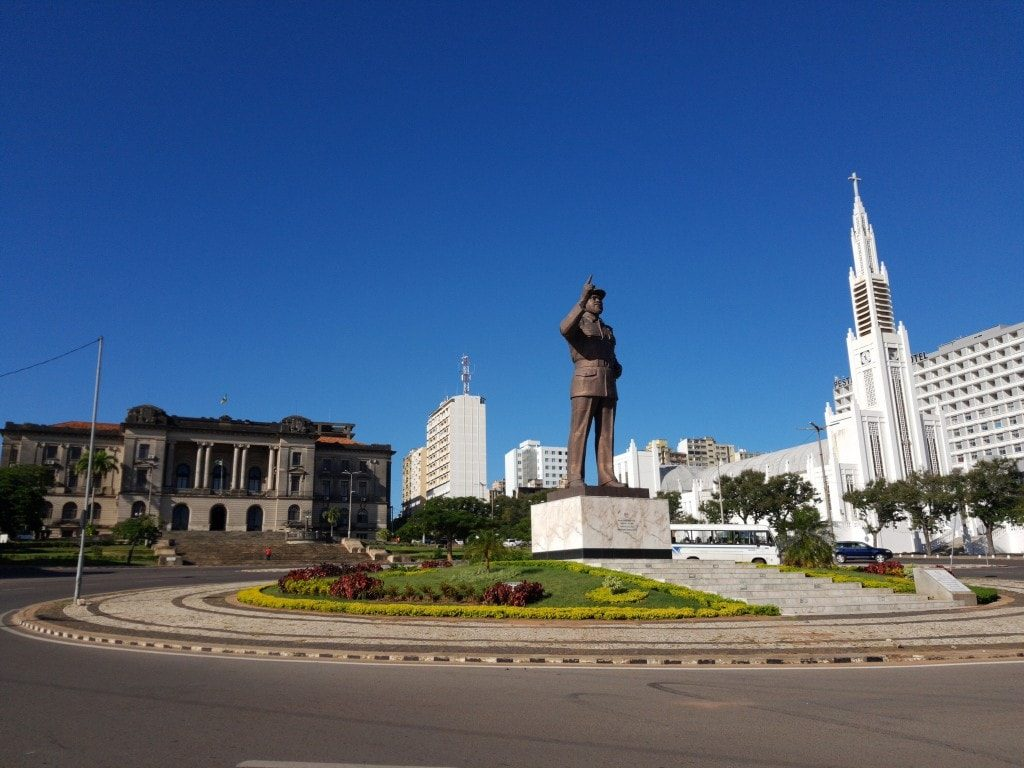 What to see in Maputo - Liberty Square and Cathedral of our Ladyof immacualte conception