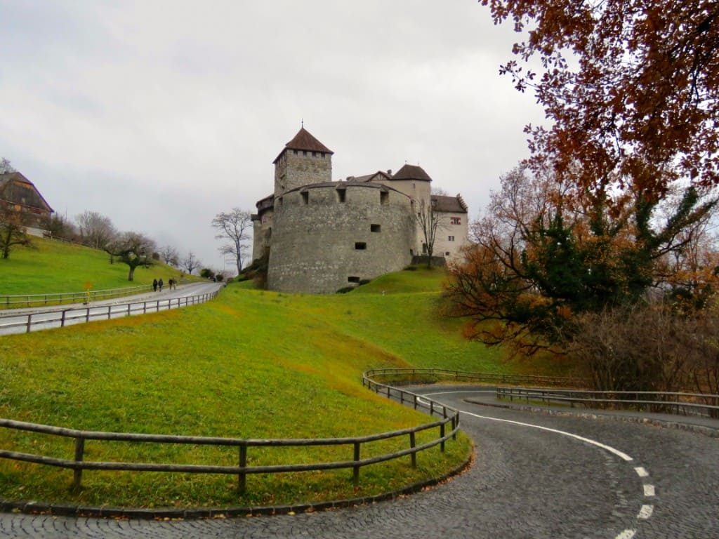 Liechtenstein Points of Interest Vaduz Castle