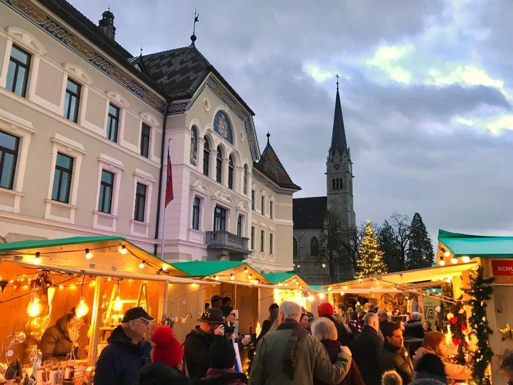 Liechtenstein Vaduz Christmas market