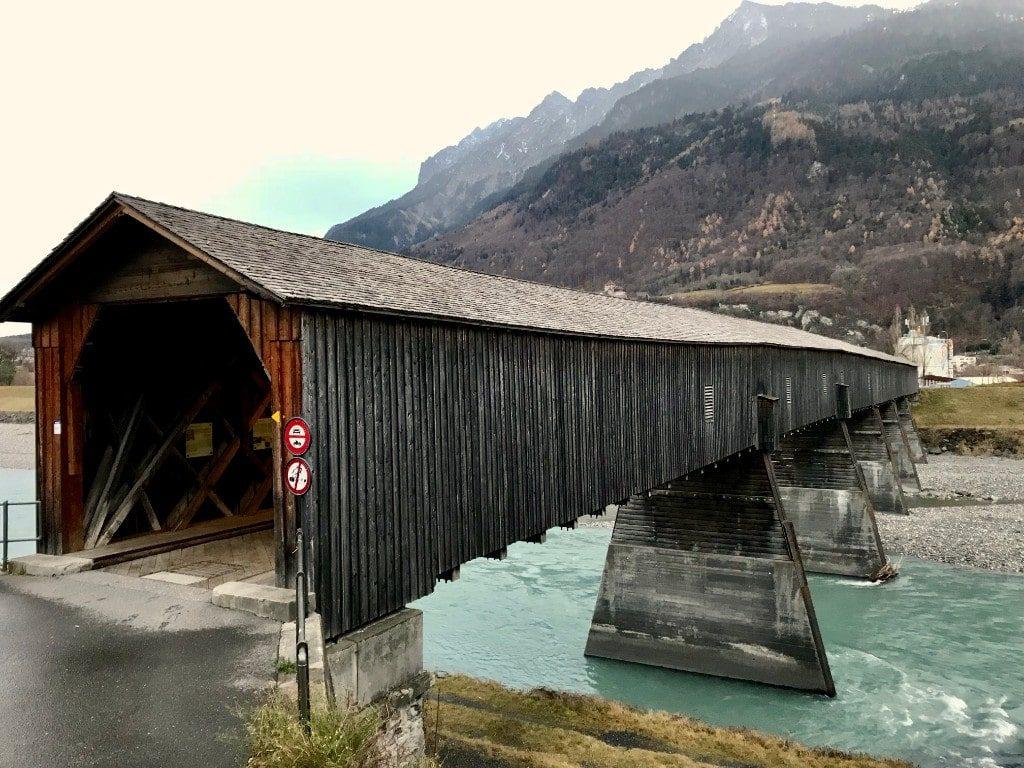 Liechtenstein places to visit Alte Rheinbrücke