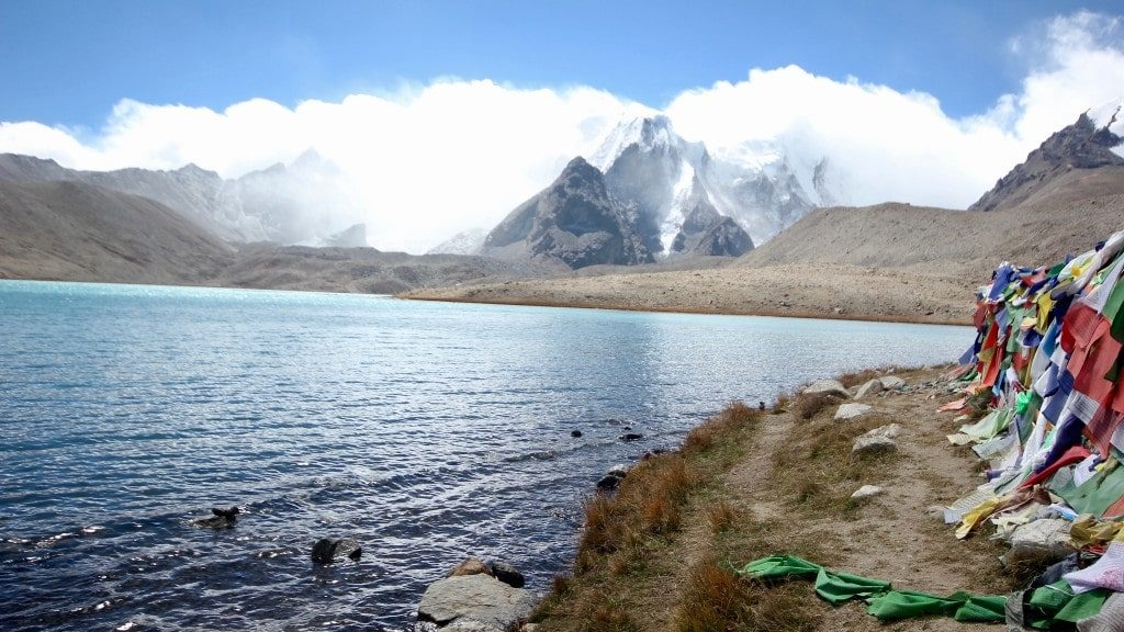 Gurudongmar Lake - one of the best lakes in Sikkim