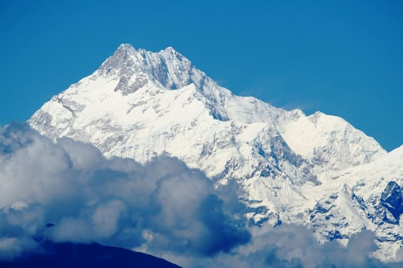 Mount Kanchenjunga can be seen from all over Sikkim. It is the 3rd hightest mountain in the world