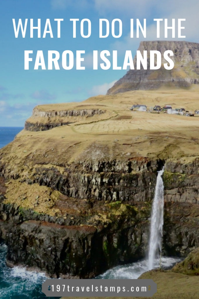 The Faroe Islands are a group of islands located between the UK and Iceland. The islands offer some icredibly scenic view and waterfalls