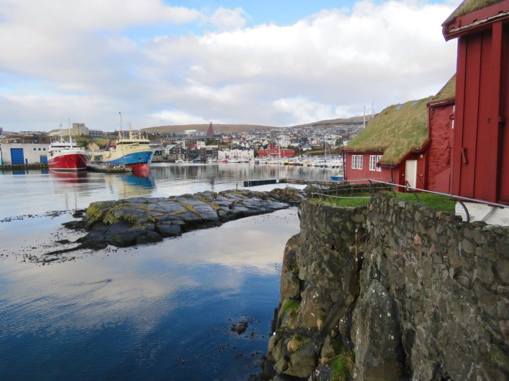 Torshavn is the capital of the Faroe Islands and the best place to stay