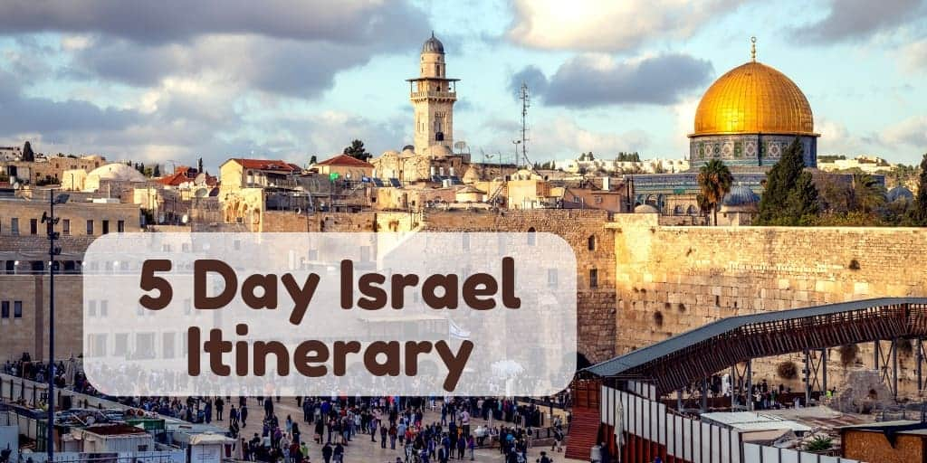 5 Day Israel Itinerary Cover Image