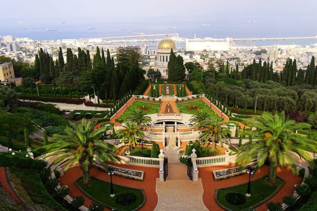 A tour through Israel - Day two Gardens in Haifa