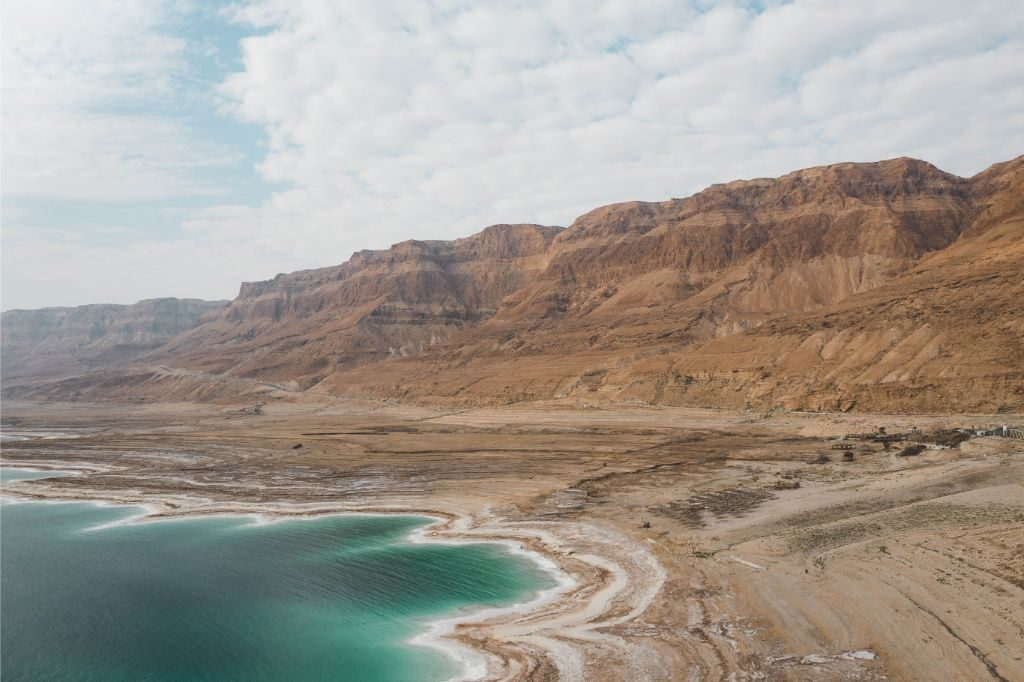 A view over the Dead Sea
