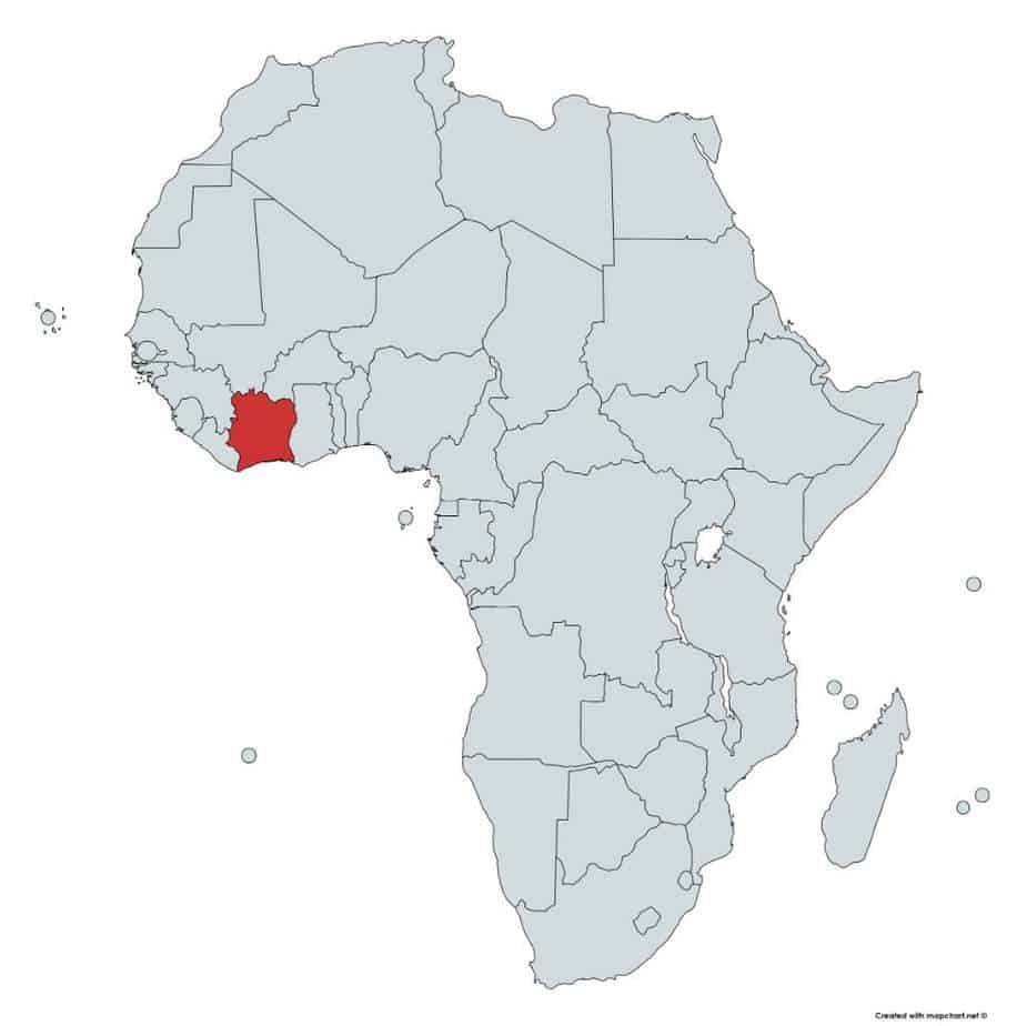 Africa Map Quiz Fill In The Blank And Guess The Country 197