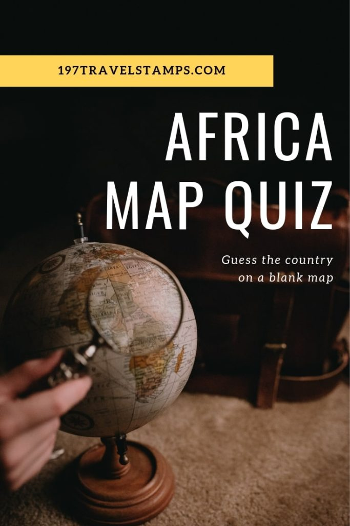 Africa Map Quiz - test your geography knowledge. Guess the correct country from the black and white outline of an African country. This quiz is a fun #trivia #game for both adults and children.