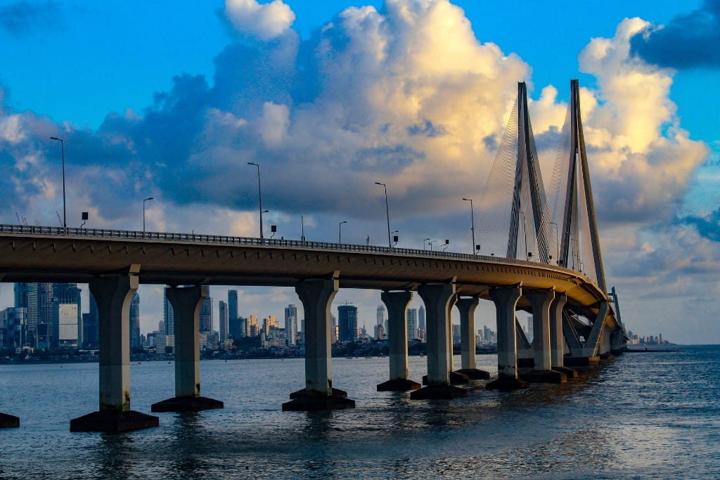 Bandra Worli Sea Link in Mumbai