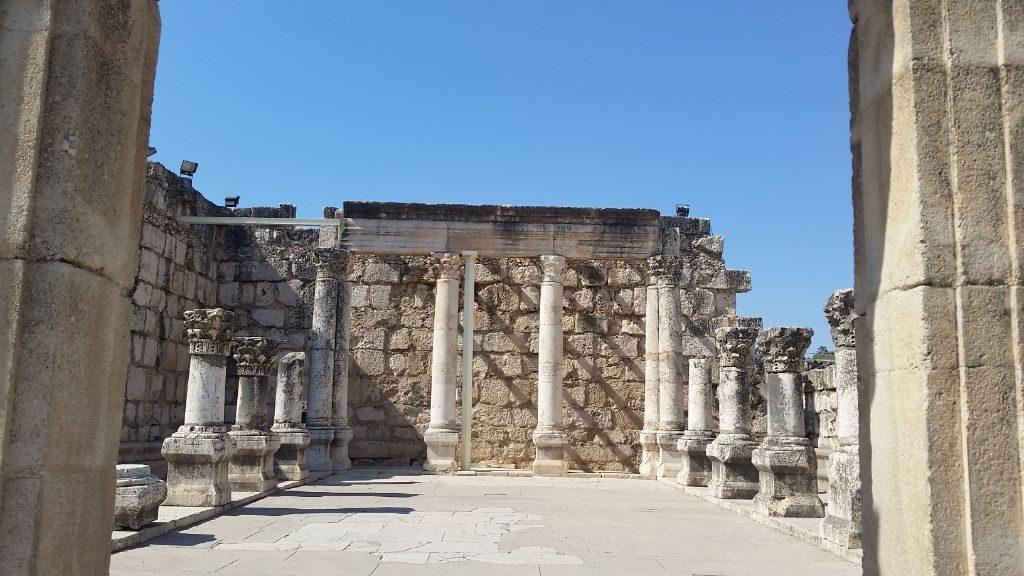 Capernaum- the Synagogue