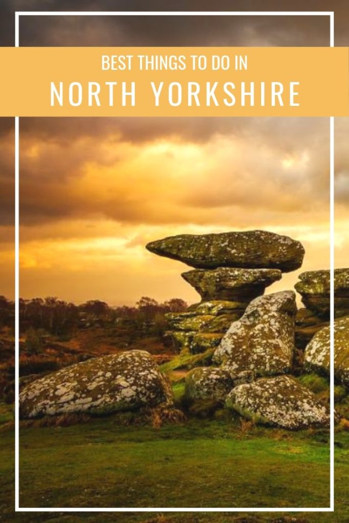 Days out in North Yorkshire - ideal destinations that can be reached from York. Waterfalls, nature, sceneries. Ideal to relax in England