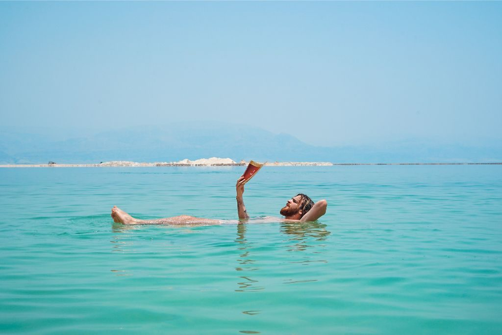 Floating on the Dead Sea - a must do in Israel