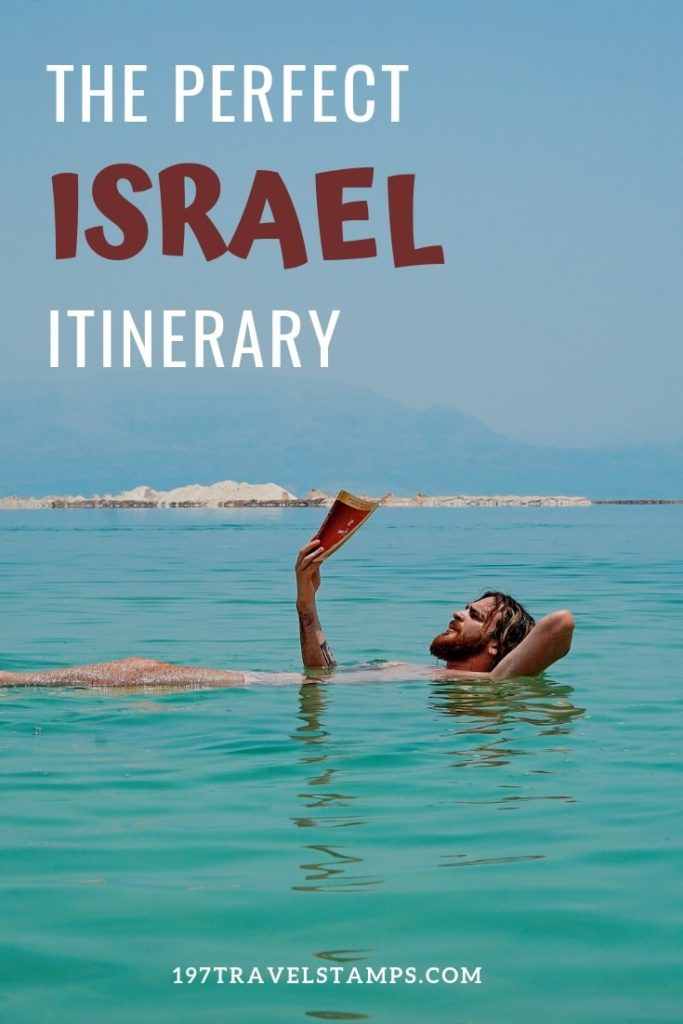 Israel Travel Itinerary - The perfect #itinerary to explore the holy land, Jerusalem, the Dead Sea, Sea of Galilee and other places. The perfect israel travel guide