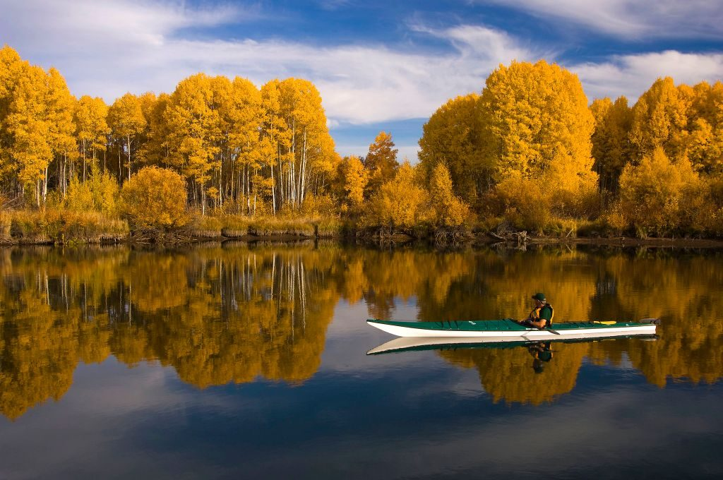 Kayaking is one of the best things to do in Bend Oregon in summer
