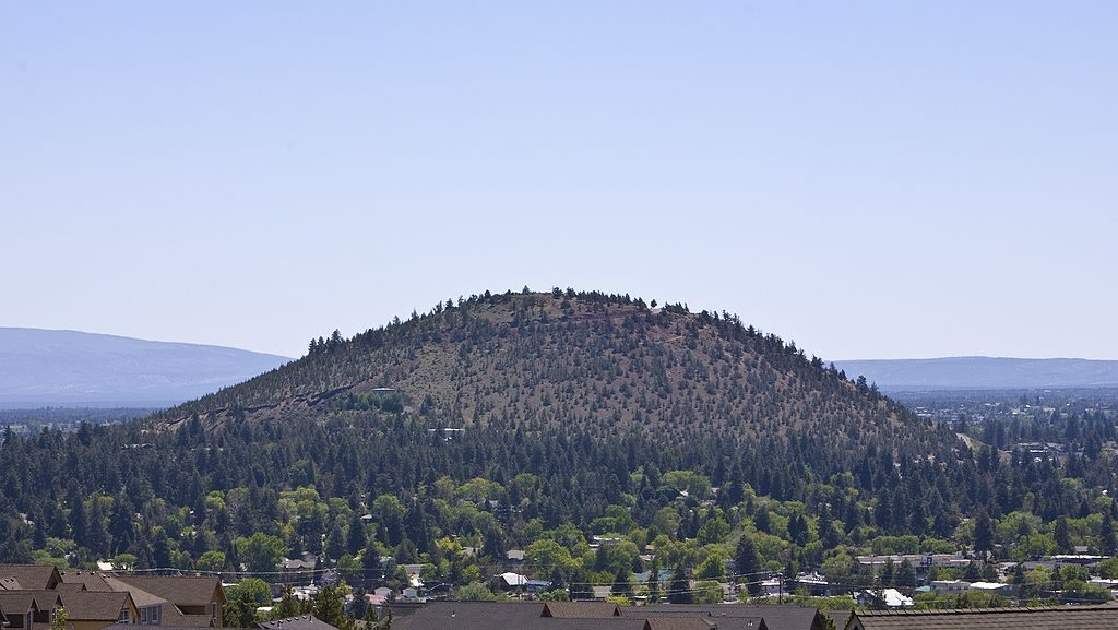 Pilot Butte offers great view of the area around Bend