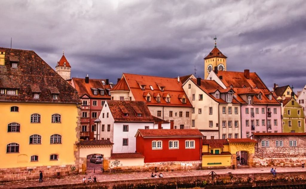 Regensburg - one of the top places in Germany located on the Danube River