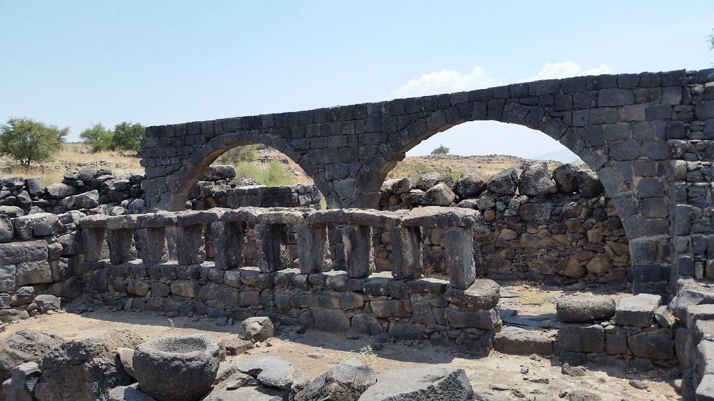 Roman ruins at Chorazin