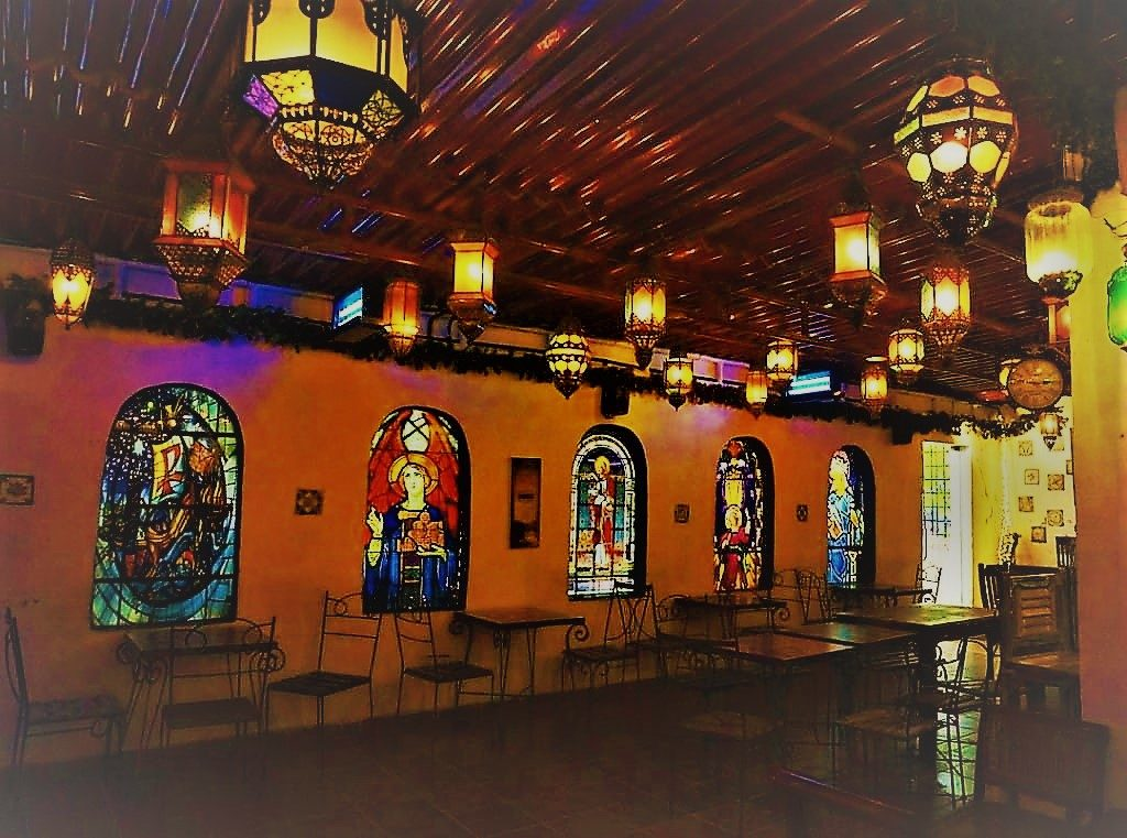 The Portuguese themed Candies Cafe in Mumbai